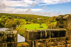 Bolton Abbey - Barden Tower From Aquaduct