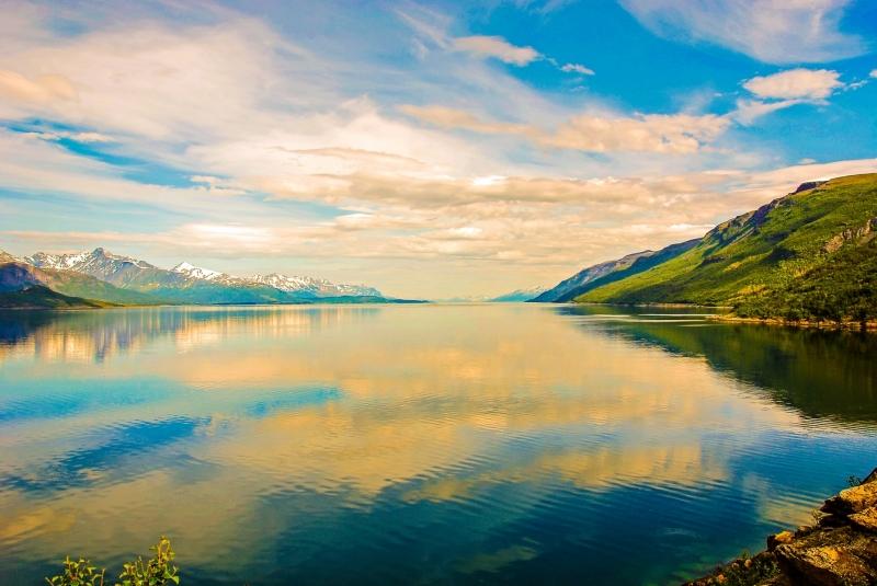 Lyngenfjord Looking North