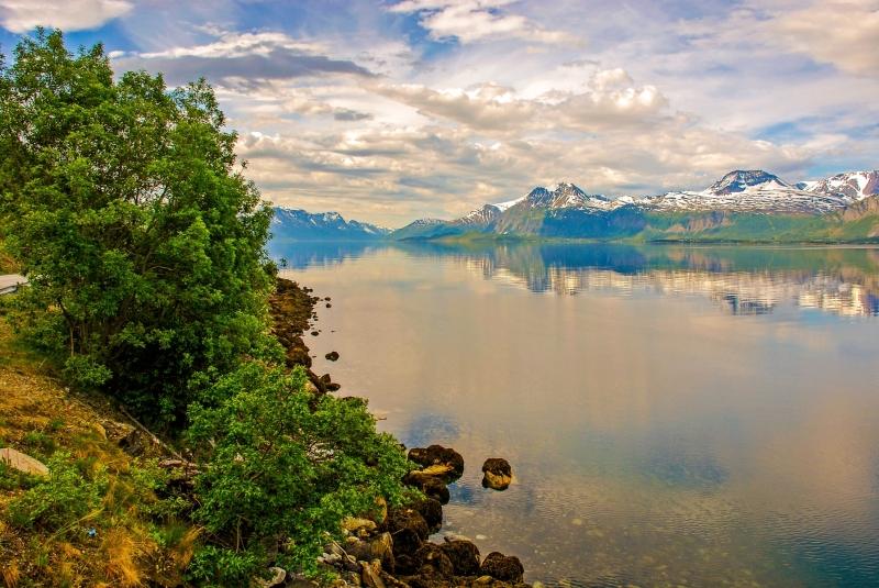 Lyngenfjord Looking South