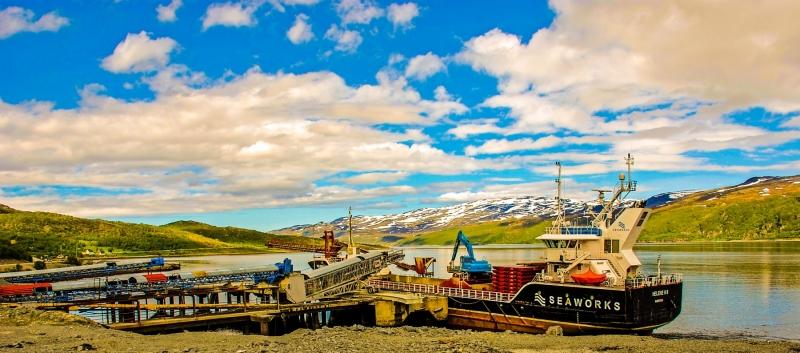 Near Hammerfest - Loading Ground Stone
