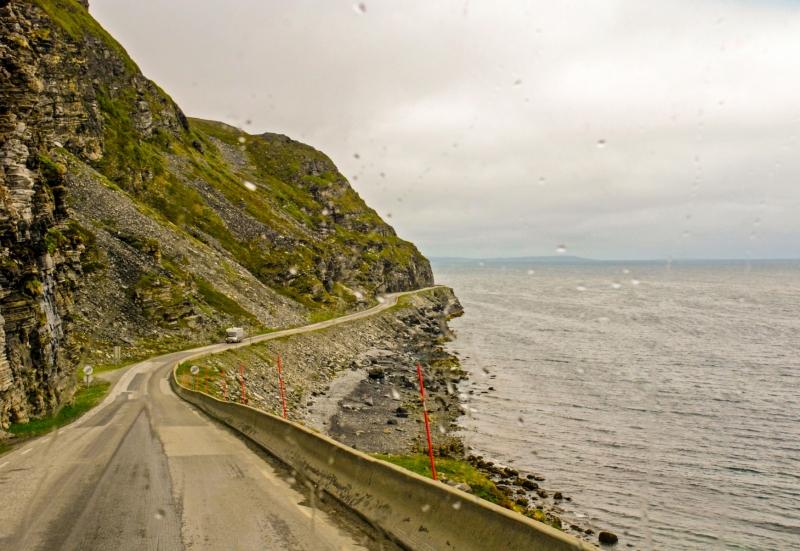 Porsangenfjord Coast Road