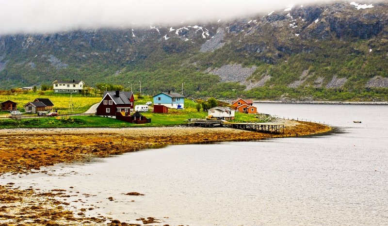 Porsangenfjord Tamsoya Settlement