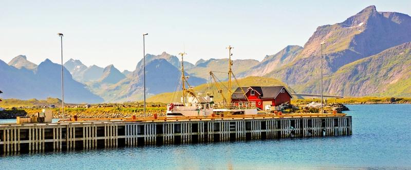 Rammborg Hafen Jetty