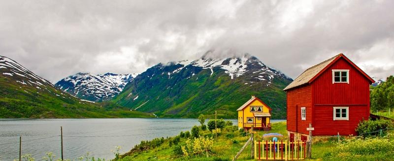 Salnes Fjord Houses