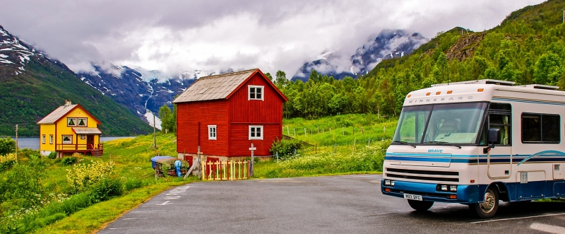 Salnes Glacier Parking