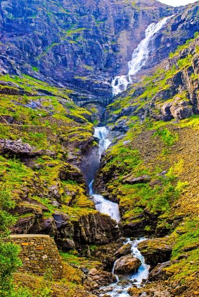 Trollstigen Falls and Bridge