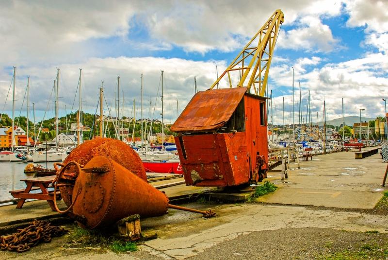 Vagen Harbour Museum Relics