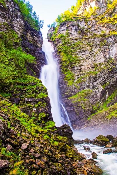 Voss Gorge Falls
