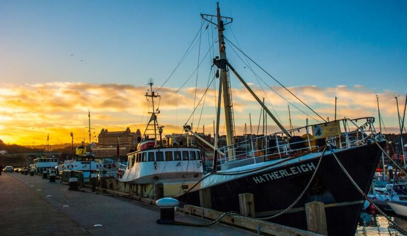 "Fishing Boat ""Hatherleigh"""