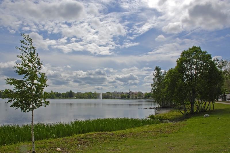 Hudiksval-Town-Lake