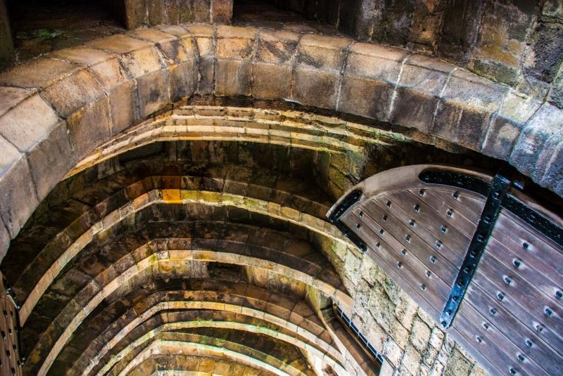 Caernafon Castle Gate Detail